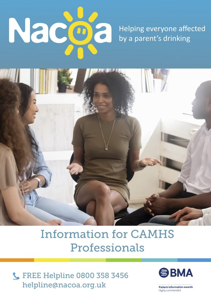 Information for CAMHs Professionals Children of Alcoholics